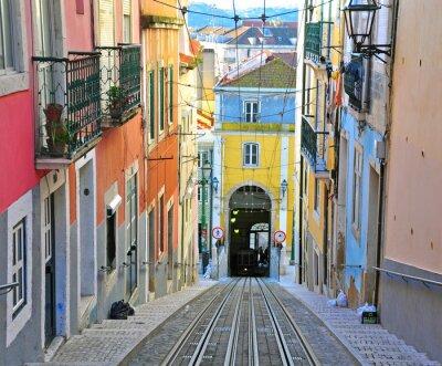 Image Lisbonne funiculaire de Bica