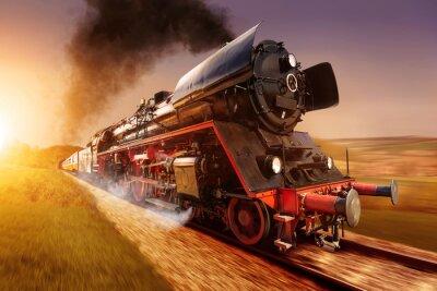 Image locomotive à vapeur