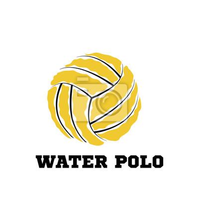 Image Logo de water polo ball pour l'équipe et la coupe
