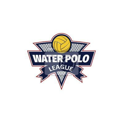 Image Logo de water-polo pour l'équipe et la coupe