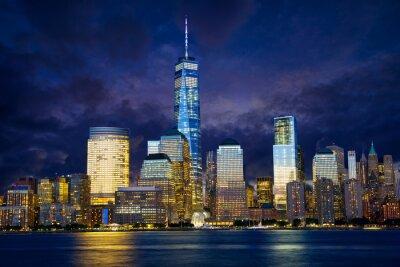 Image Lower Manhattan au crépuscule, New York