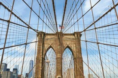 Image Lower Manhattan vue horizon de Brooklyn