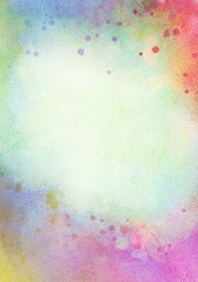 Image Lumière, résumé, bleu, vert, peint, aquarelle, éclaboussures, fond