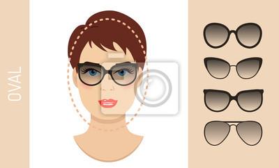 lunettes de soleil femme formes pour les femmes ovales. Black Bedroom Furniture Sets. Home Design Ideas