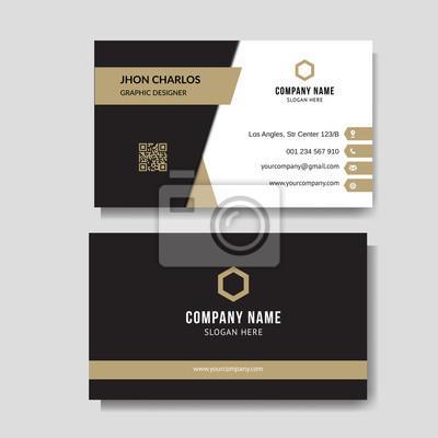Image Luxury and elegant business card