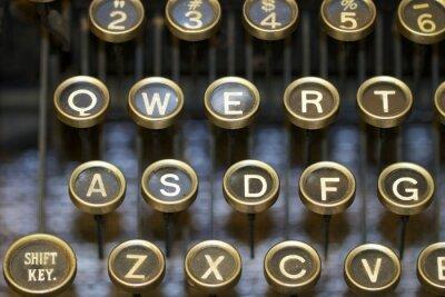 Image Machine à écrire / clés