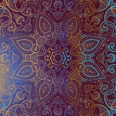 Image Mandala. Motif décoratif indien.