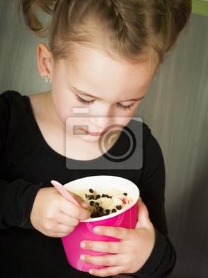 Manger du yaourt surgelé