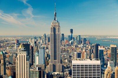 Image Manhattan vue aérienne