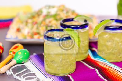 Margaritas à la mangue
