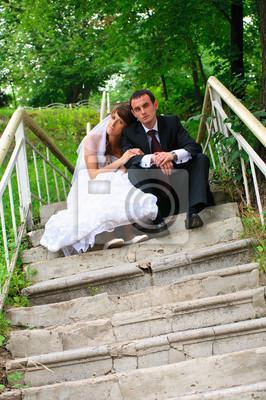 marié et la mariée. Amour tendresse sentiment du couple de mariage