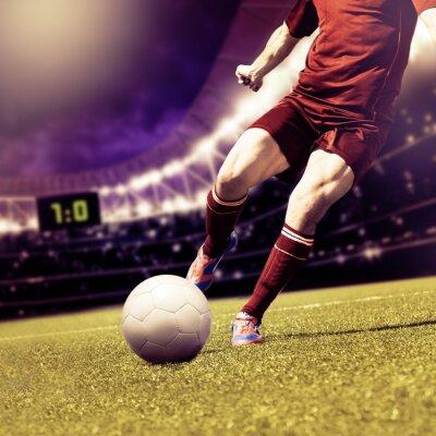 Image match de football