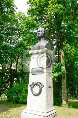 Meiningen Jean Paul Monument 1865 Dans Le Jardin Anglais Peintures