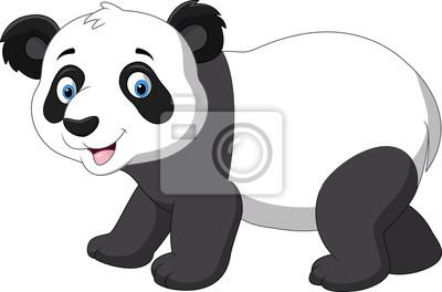 Mignon Bebe Panda Dessin Anime Peintures Murales Tableaux Rire