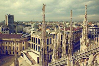 Image Milan, Italie. Vue sur le Palais Royal - Palazzo Realle