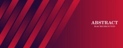 Image minimal geometric red background. red stripes, perfect for banners, website backgrounds, posters etc.