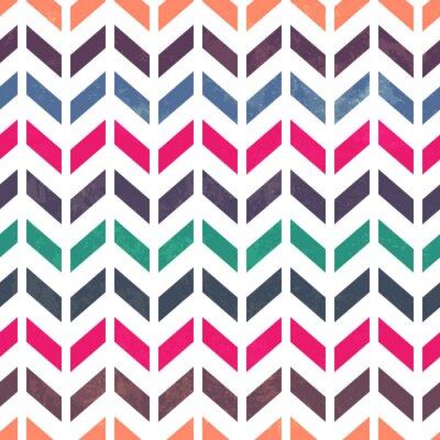 Image Modèle Chevron. Coloré, grunge et sans couture. Effets grunge c