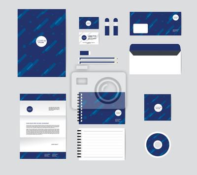 Image Modle Didentit Dentreprise Pour Votre Entreprise Comprend CD Couverture Carte