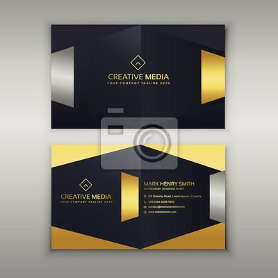 Image Modele De Conception Carte Visite Premium Luxe
