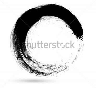 Image Modèle de conception de logo .Vector. Twirl formes grunge.