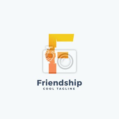 Image Modèle de signe vectoriel, symbole ou logo de l amitié. Hand Shake fa2f23dbc4fd