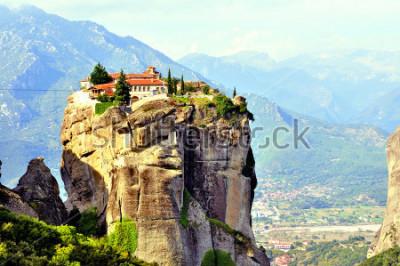 Image Monastères des Météores situées au nord de la Grèce dans la région de Thessalie