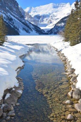 Image Montagnes et rivière