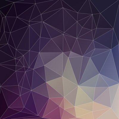 Image Mosaik Hintergrund Polygon