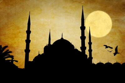 Image Moschea silhouette