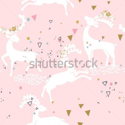 Image motif de cerf sans soudure