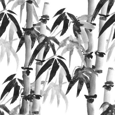 Image Motif en bambou