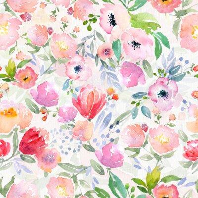 Image Motif floral d'aquarelle