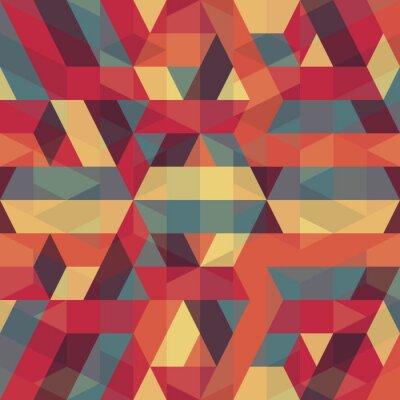Image motif géométrique abstrait rétro