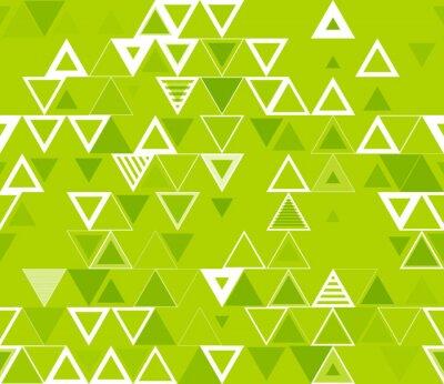 Image Motif géométrique sans soudure avec triangles.