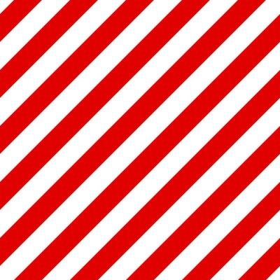 Image Motif rayé Résumé Seamless diagonale avec st rouge et blanc