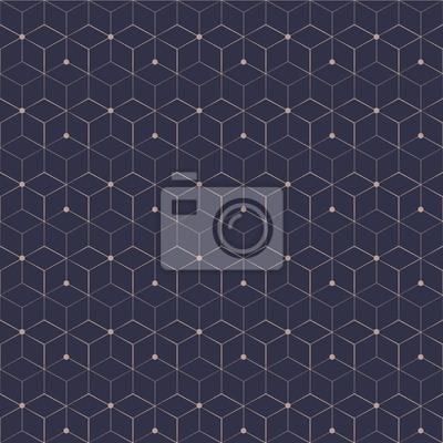 Image Motif Sans Fil De Grille Cube Géométrique Effet étoile Illustration