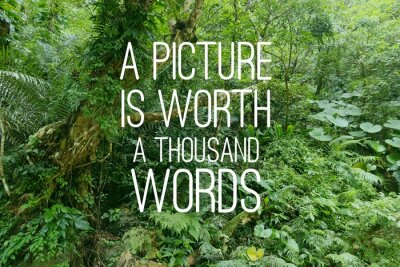 Image Motivational text