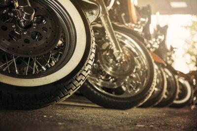 Image Motocyclettes d'affilée
