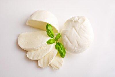 Image Mozzarella fraîche au basilic