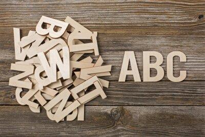 Image Mucchio di lettere ABC