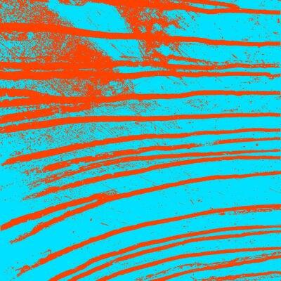 Image mur bleu de texture avec des taches rouges sanglants. Vector illustration.