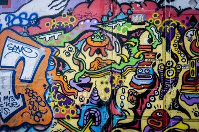 Image Mur plaisir de graffiti