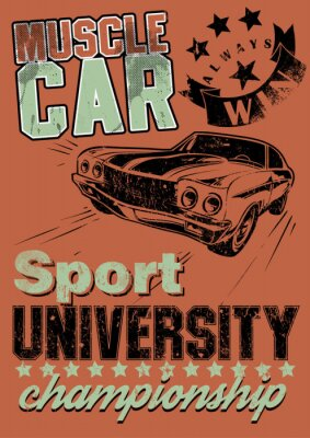 Image Muscle car