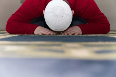 Image Musulman, prier, mosquée