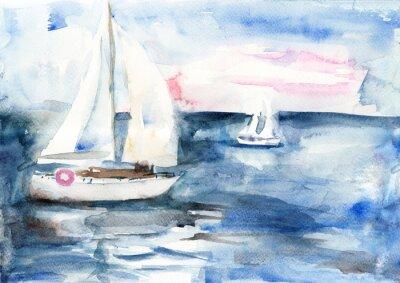 Image Navires dans la mer