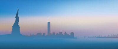Image New York - Aube