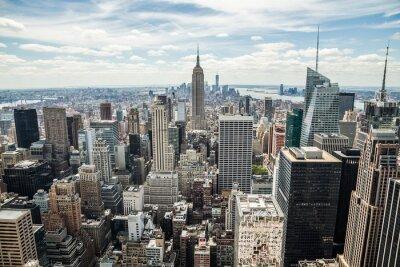 Image New York City Manhattan Midtown Les bâtiments vue horizon