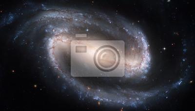 NGC 1300 est une galaxie spirale barrée dans la constellation Eridanus