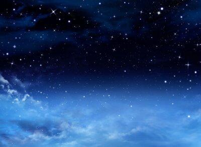 Image Night Sky with Stars