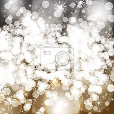 Noël bokeh avec paillettes
